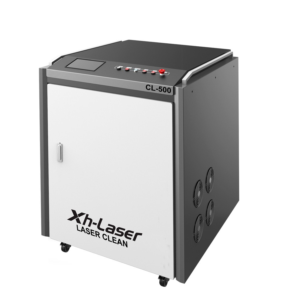 Laser Cleaning Oil Stain 500 W Laser Cleaning Equipment Laser Cleaning Oil Stain